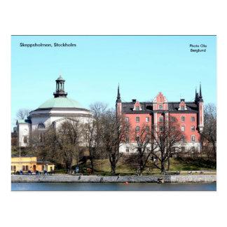 Skeppsholmen, Éstocolmo, foto O… Cartão Postal