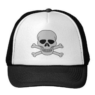 skull&bones-branco boné