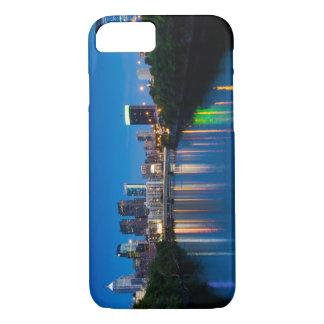 Skyline da cidade de Philadelphfia em capas de