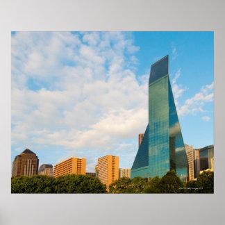 skyline da cidade, uma torre do escritório do marc posters