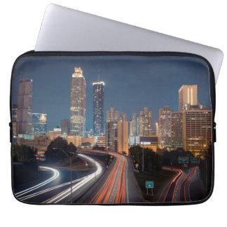 Skyline de Atlanta Bolsas E Capas Para Computadores