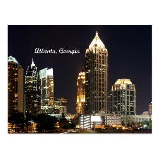 Skyline de Atlanta, Geórgia Cartão Postal