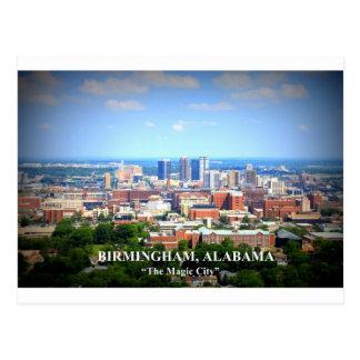 Skyline de Birmingham, Alabama Cartão Postal