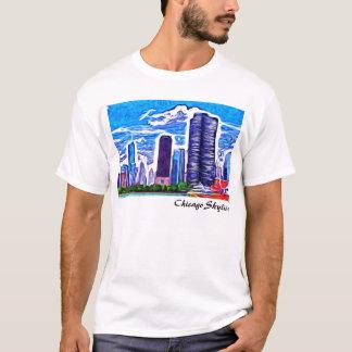 Skyline de Chicago Camiseta