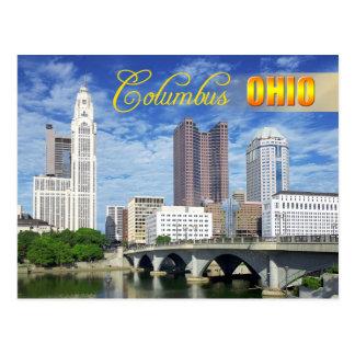 Skyline de Columbo, Ohio Cartão Postal