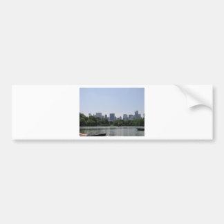 Skyline de NYC Adesivo Para Carro