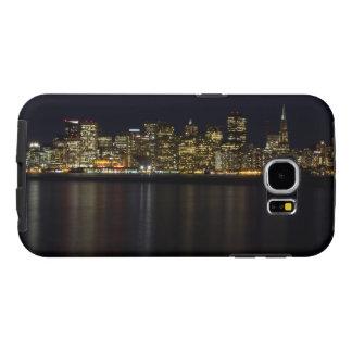 Skyline de San Francisco na capa de telefone da