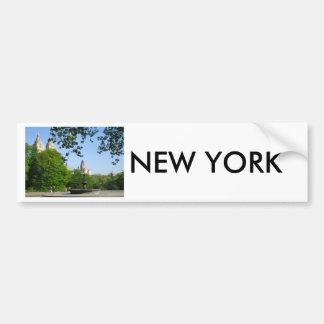Skyline do Central Park Adesivo Para Carro