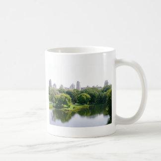 Skyline do Central Park de NYC Caneca De Café