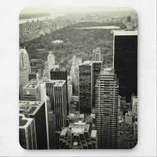 Skyline e Central Park de NYC Mouse Pad