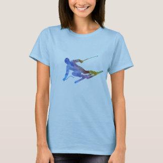 Slalom do arco-íris tshirts