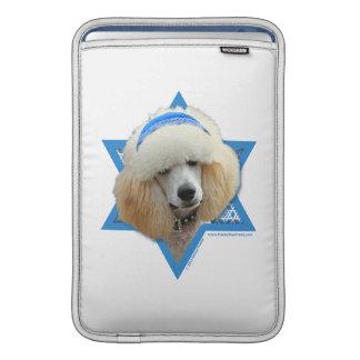 Sleeve De MacBook Estrela de David de Hanukkah - caniche - abricó