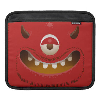 Sleeve Para iPad Cara do monstro