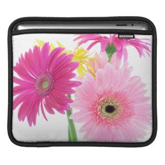 Sleeve Para iPad Margaridas cor-de-rosa