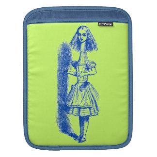 Sleeve Para iPad Vintage Alice no país das maravilhas