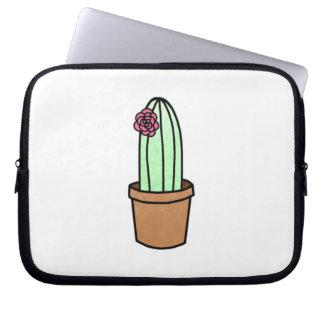 Sleeve Para Laptop A bolsa de laptop do cacto