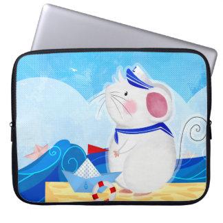 Sleeve Para Laptop As bolsas de laptop do marinheiro do rato