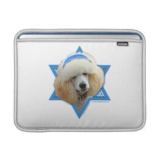 Sleeve Para MacBook Air Estrela de David de Hanukkah - caniche - abricó