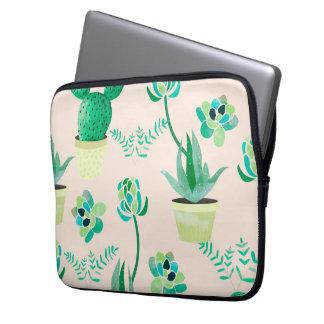 """Sleeve Para Notebook As bolsas de laptop do teste padrão do cacto 13"""""""