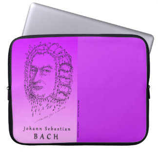 Sleeve Para Notebook Bach: Enfrente a música