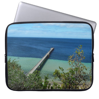 Sleeve Para Notebook Baía de lãs, Sul da Austrália, a vista,