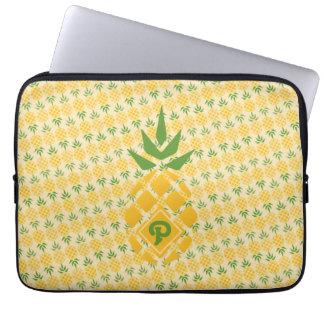 Sleeve Para Notebook Diagonal personalizada do abacaxi