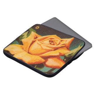 Sleeve Para Notebook Rosa amarelo