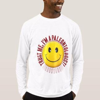 Smiley da confiança do Paleontologist Tshirt
