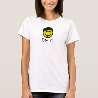 Smiley do Beatnik Camiseta