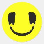 Smiley do DJ Adesivo
