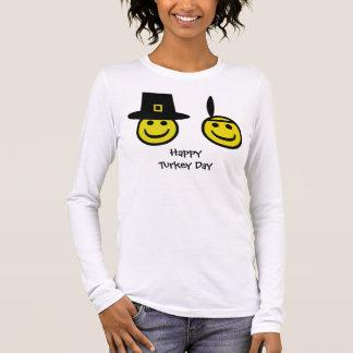 Smiley do peregrino camiseta
