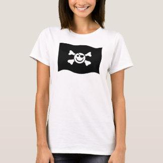 Smiley do pirata tshirts