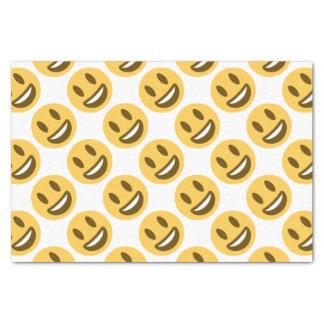 Smiley emoji papel de seda