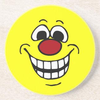 Smiley face alegre Grumpey Porta Copo Para Bebidas