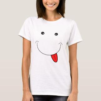 Smiley face camiseta