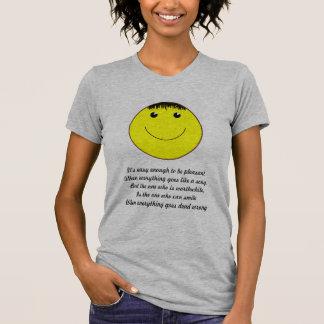 Smiley face camisetas