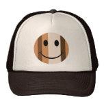 Smiley face do estilo do pop art boné