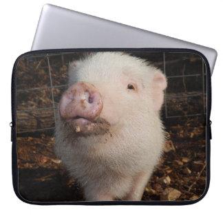 Snout sujo, porco, a bolsa de laptop do neopreno capas de computadores notebooks