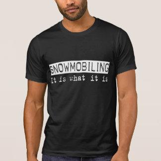 Snowmobiling o é tshirt