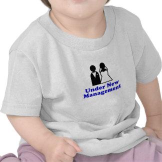 Sob a gestão nova t-shirt