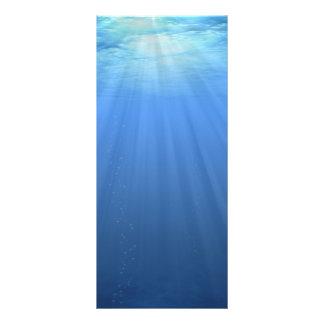 Sob o mar 10.16 x 22.86cm panfleto