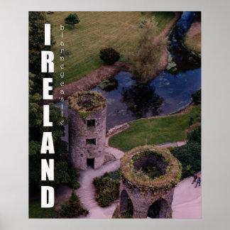 Sobre o castelo do Blarney, Ireland Poster