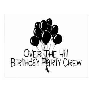 Sobre o grupo da festa de aniversário do monte cartão postal