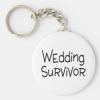 Sobrevivente do casamento chaveiros