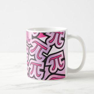 Social cor-de-rosa do Pi - presentes do Pi - Caneca De Café