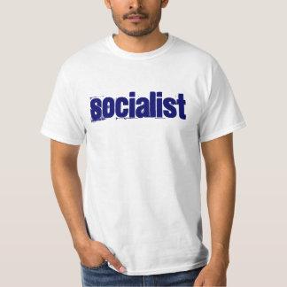 Socialista com um Obama principal Camisetas