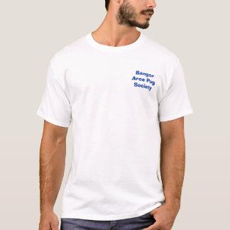 Sociedade do Pug da área de Bangor Camiseta