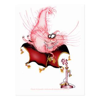 Soe minha Bell - desenhos animados engraçados do Cartão Postal