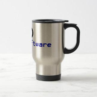 Software livre - copyleft caneca térmica