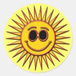 SOL DO SMILEY ADESIVOS